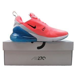 Nike Air Max 270 Women's Running Shoes Lava Glow
